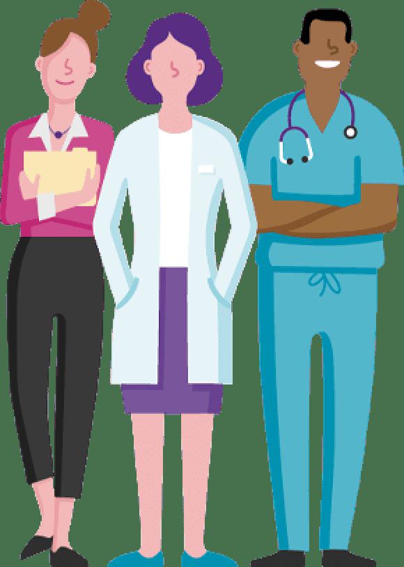 executive, physician, nurse