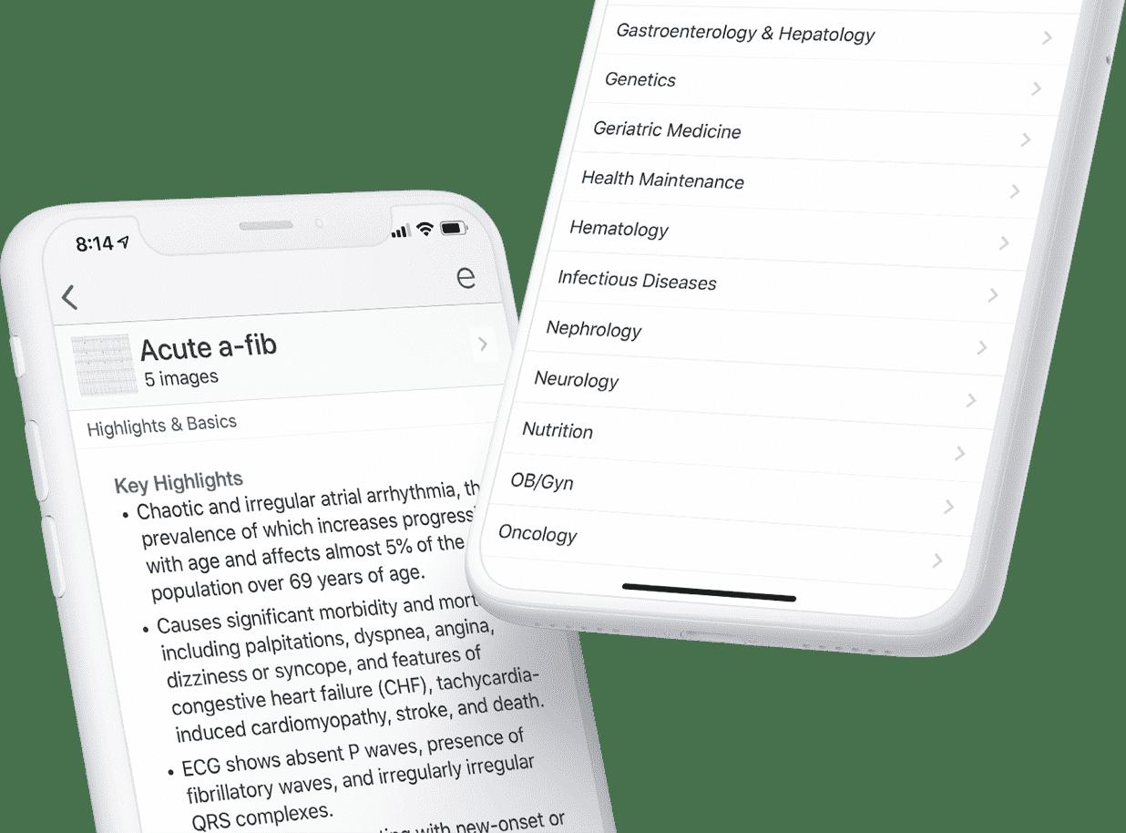 phones with epocrates
